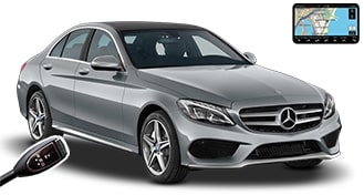 Mercedes C-Class + NAVI LDAR