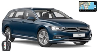 VW Passat estate + NAVI FWAR