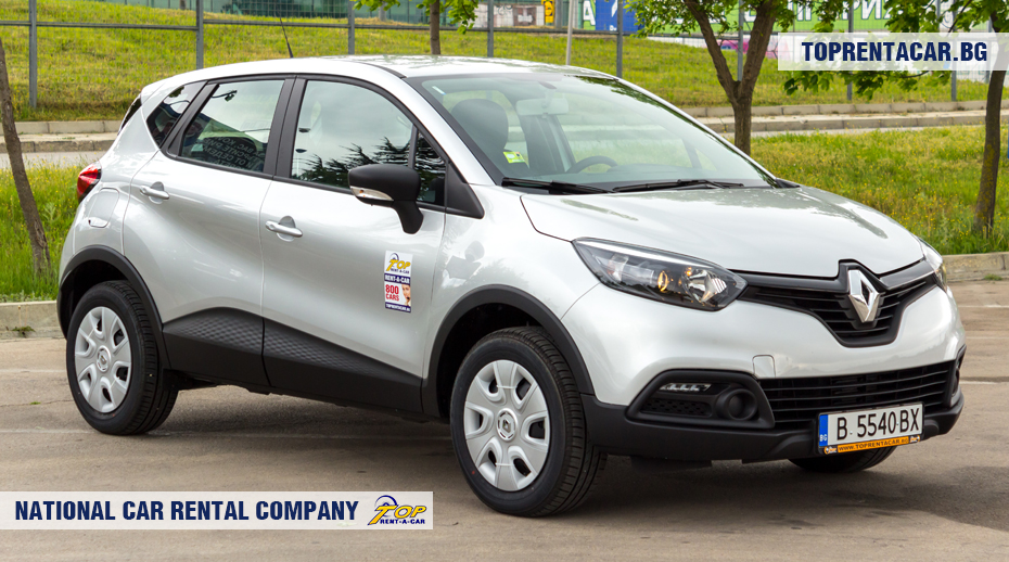 Renault Captur - front view