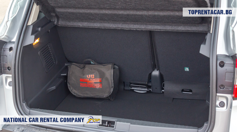 Renault Captur - trunk