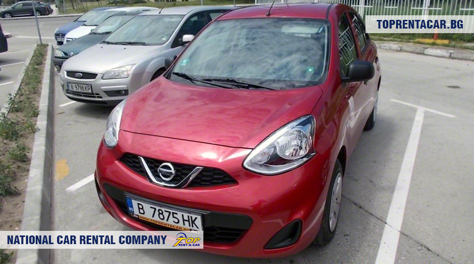 Nissan Micra - front view