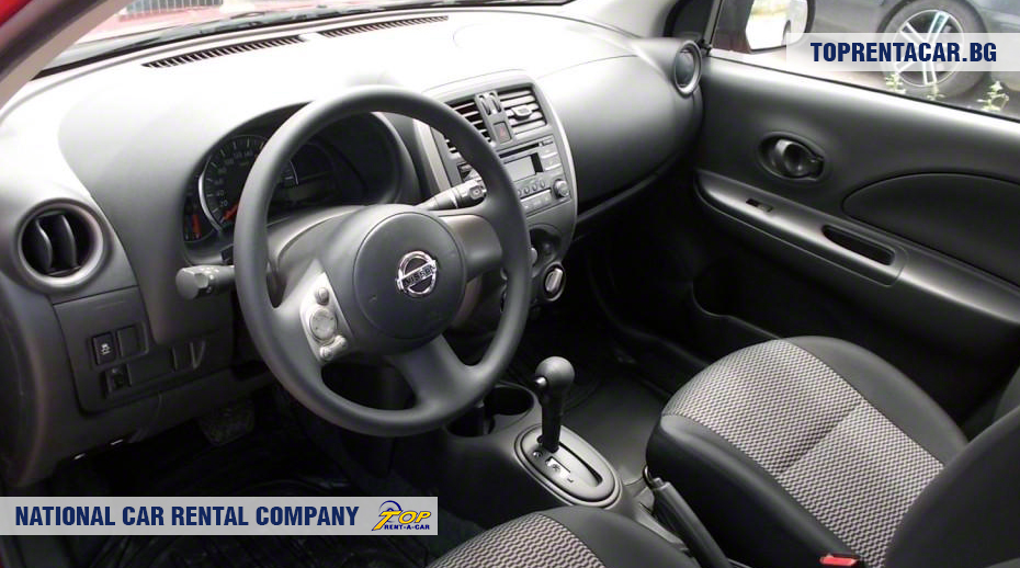 Nissan Micra - inside view