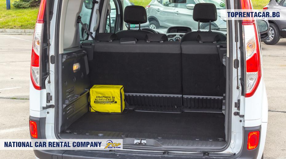Renault Kangoo - trunk