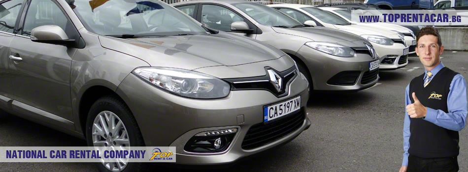 Renault Fluence from Top Rent A Car