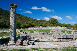 Ruins in Veliki Preslav