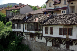 Old houses in Troyan