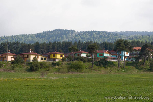 Houses near Batak
