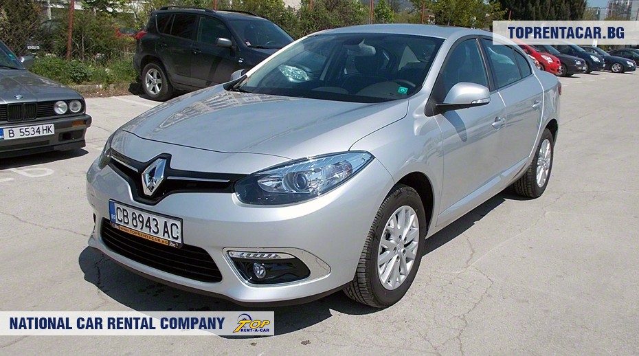 Renault Fluence - front view