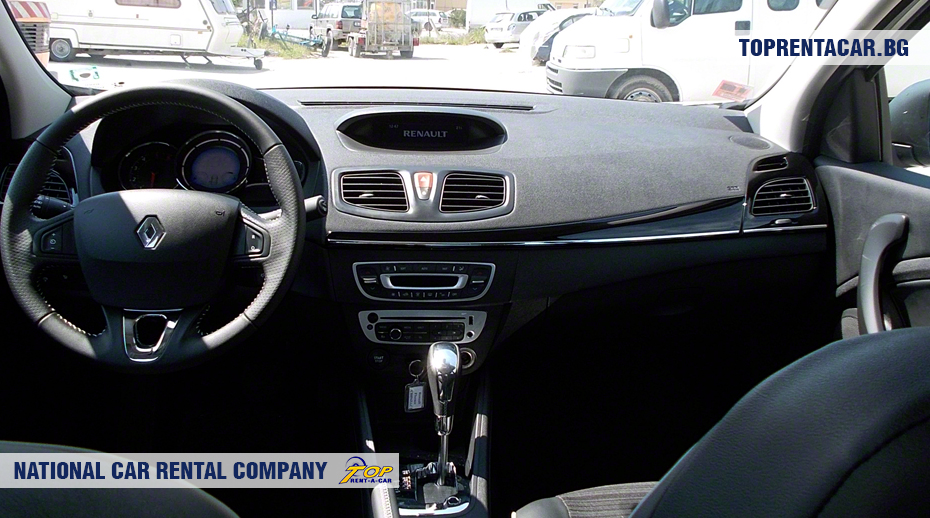 Renault Fluence - inside view