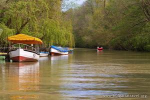 Boats in Kamchiya river