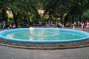 Fountain in Burgas