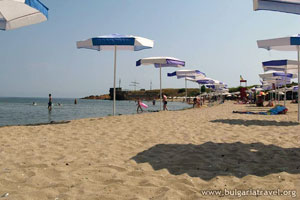 The beach of Ahtopol