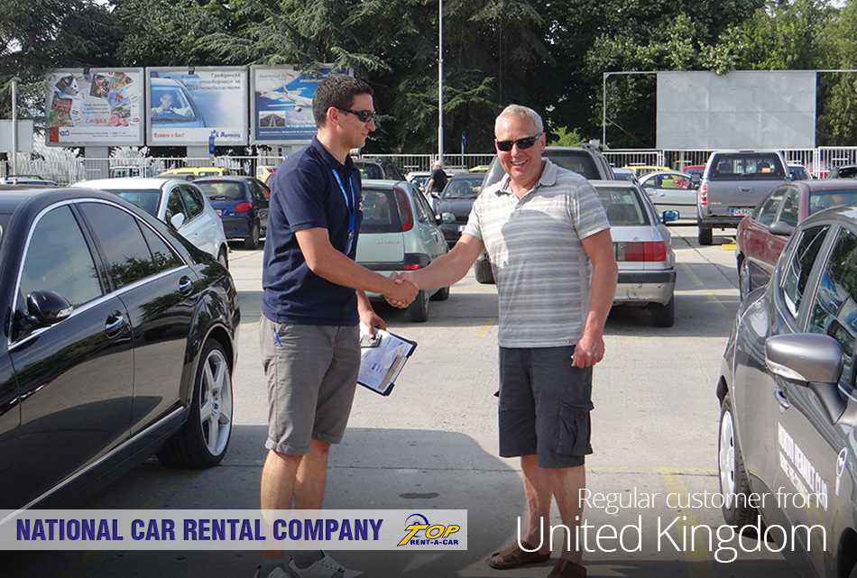 UK customers from Top Rent A Car