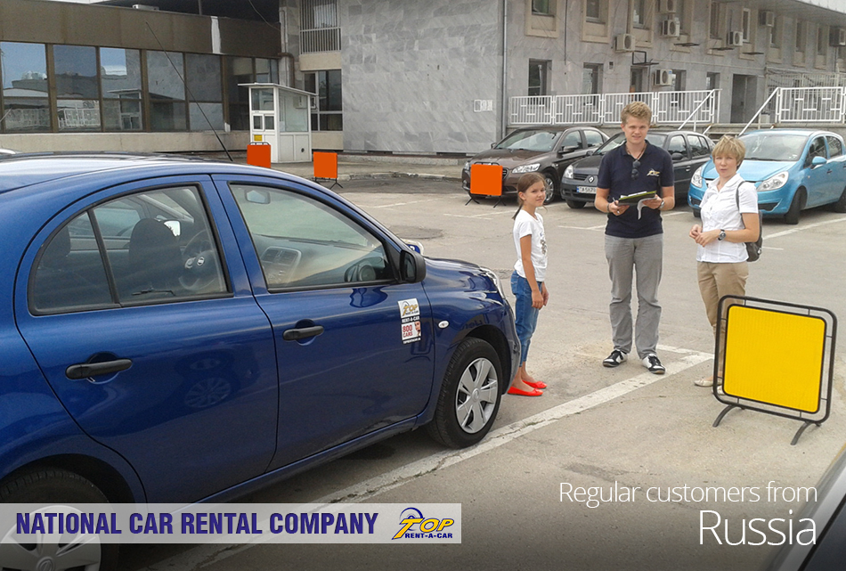 Russian customers from Top Rent A Car