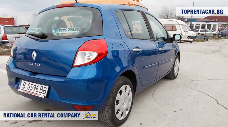 Renault Clio III - back view