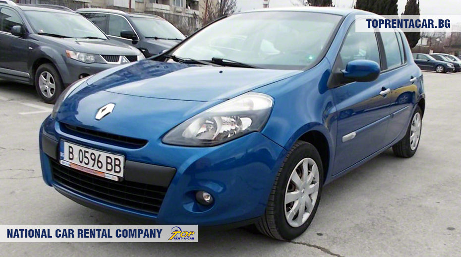 Renault Clio III - front view