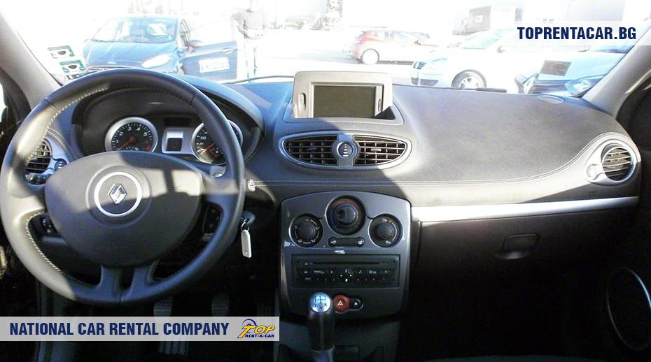 Renault Clio III - inside view