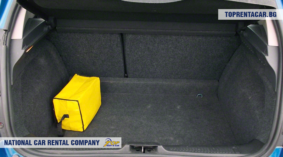 Renault Clio III - trunk view