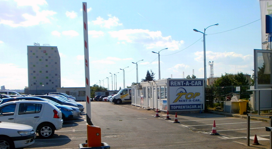 Parking near Sofia Airport