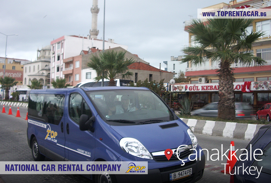 Top Rent A Car - cross border rentals in Canakkale