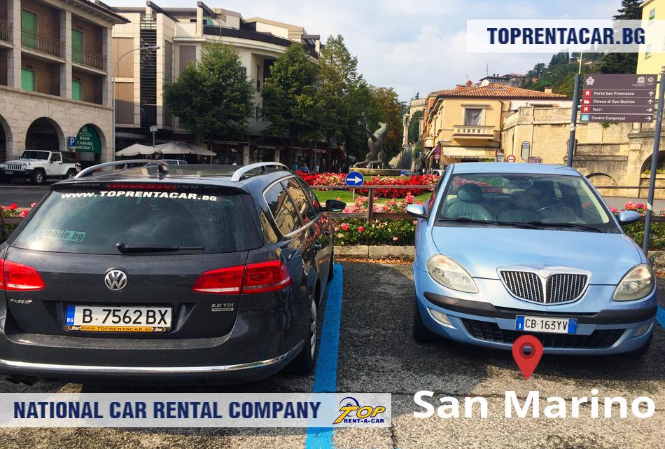 Top Rent A Car - San Marino