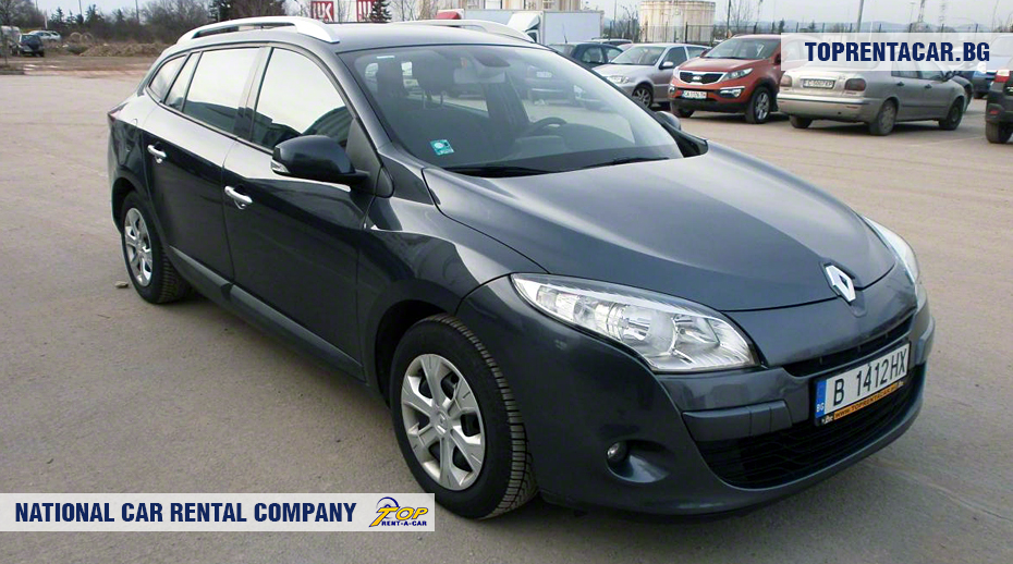 Renault Megane - front view