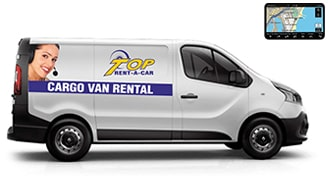 Cargo vans with short wheelbase