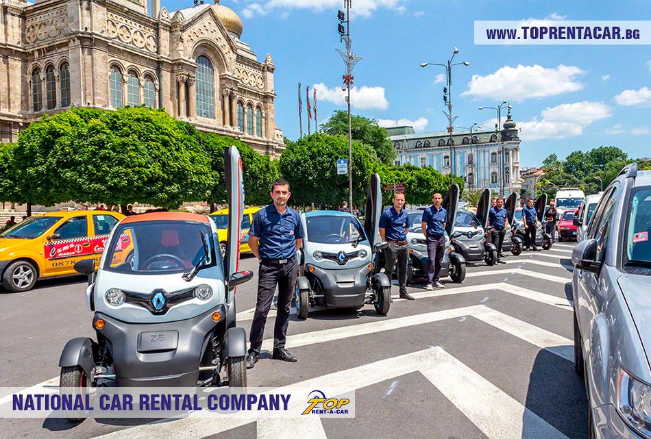 Renault Twizy EV rental Varna