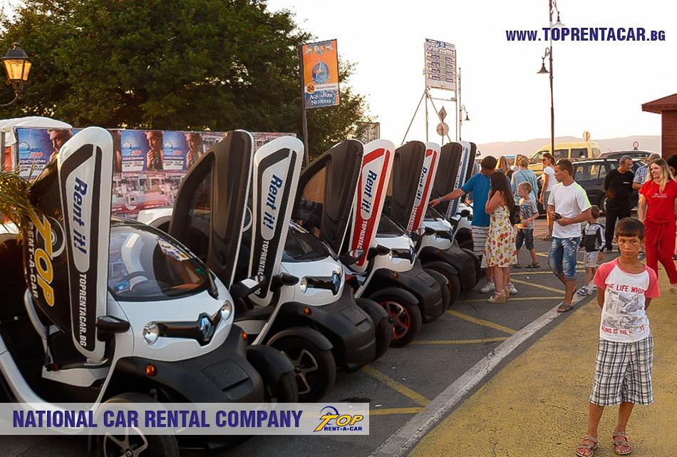 EV rental in Sunny Beach