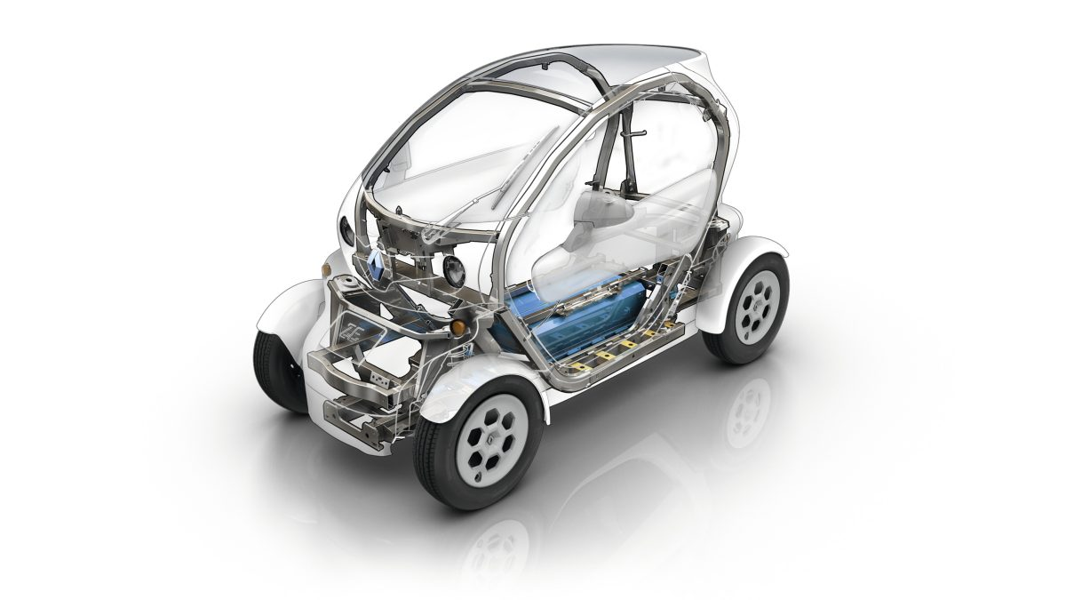 Renault Twizy chassis