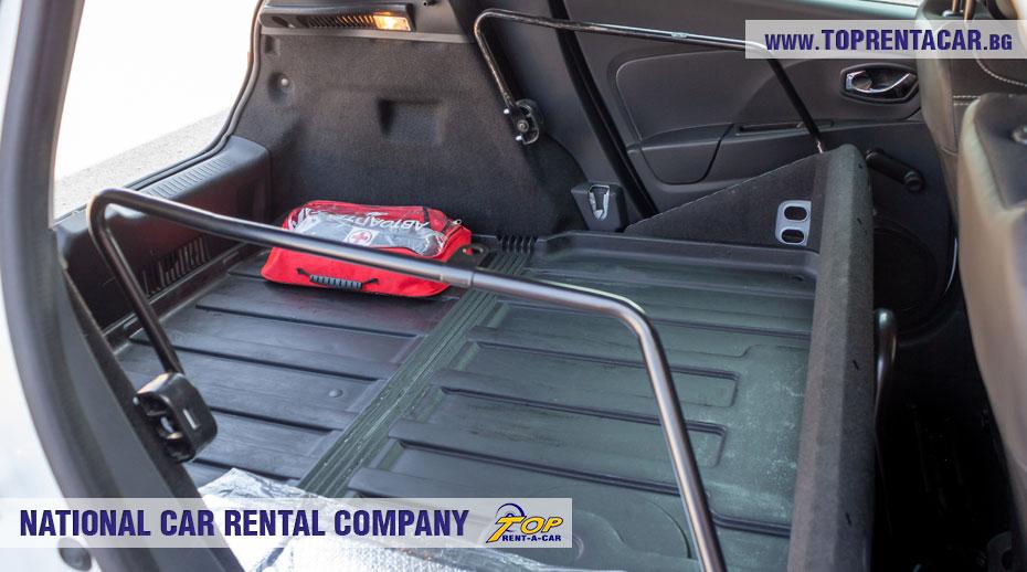 Renault Clio IV Cargo - trunk
