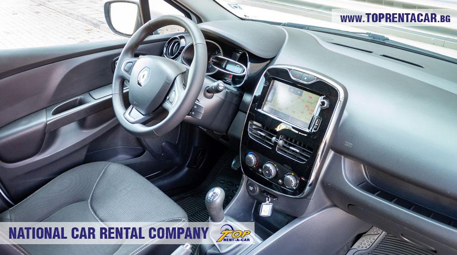 Renault Clio IV Cargo - inside