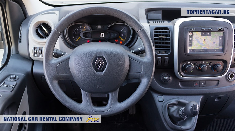 Renault Trafic - inside view 2