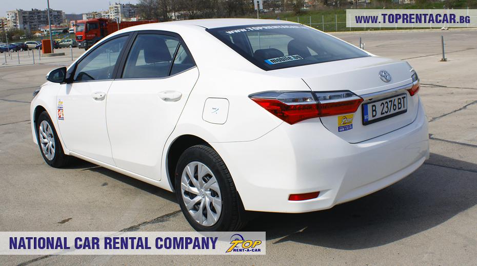 Toyota Corolla aut. - back