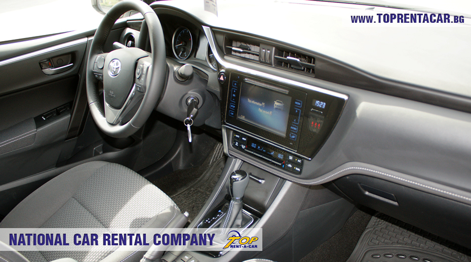 Toyota Corolla aut. - trunk