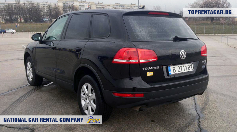 VW Touareg - rear view