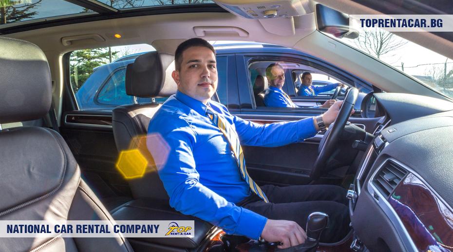 VW Touareg by Top Rent A Car