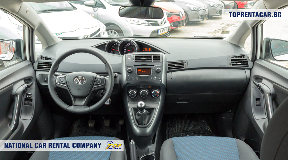 Toyota Verso - inside view