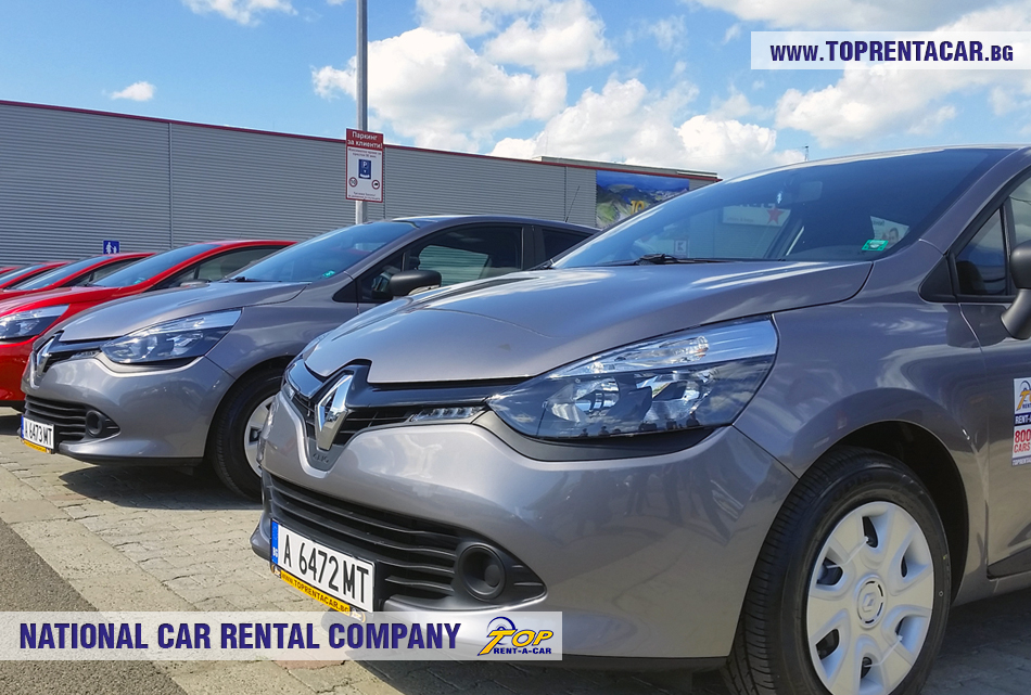 Renault Clio IV TCe from Top Rent A Car