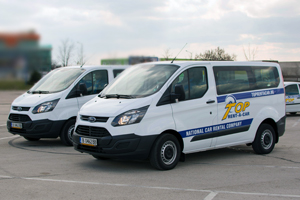 Minivans and minibus rental in Sofia