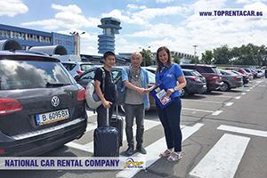 Rent a car in Bucharest - Aeroportul Internațional Henri Coandă (Otopeni airport)