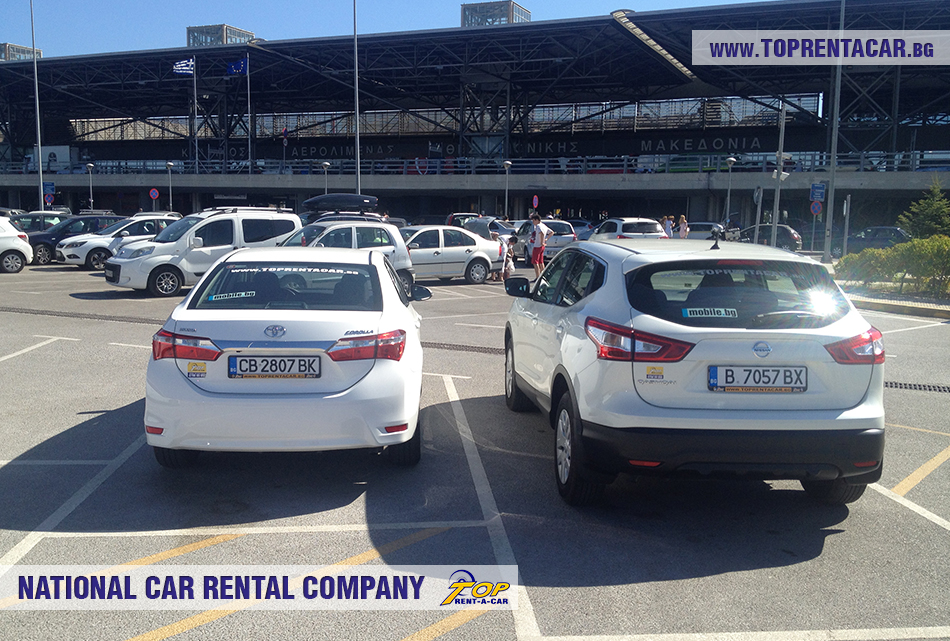Rent a car in Thessaloniki from Top Rent A Car