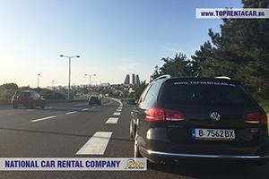 Car hire in Belgrad airport, Serbia