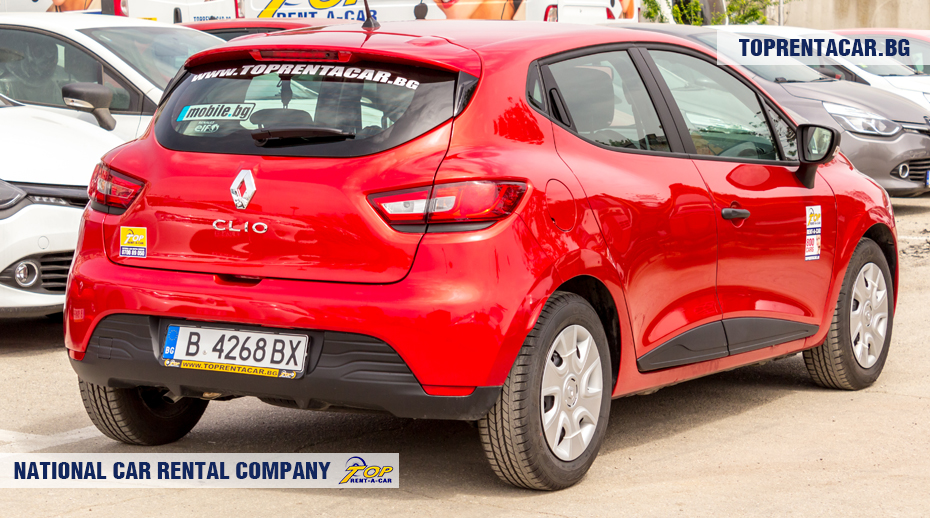 Renault Clio IV TCe - rear view