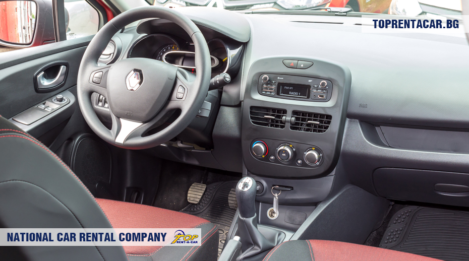 Renault Clio IV - inside view