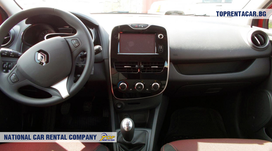 Renault Clio IV TCe - inside view