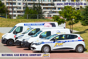 Cargo van rentals in Plovdiv