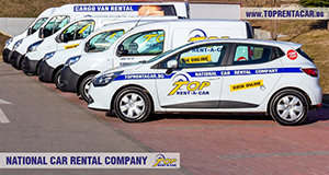 Hiring a cargo van in Sofia from Top Rent A Car
