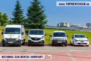 Cargo van rentals in Burgas