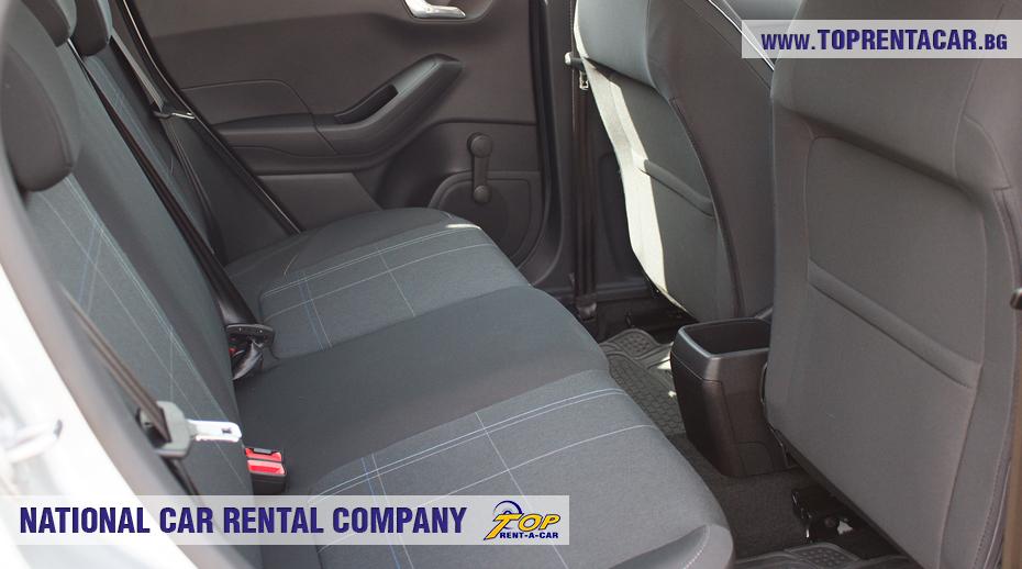 Ford Fiesta - backseat